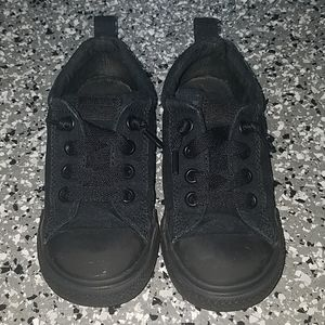 Converse All Star Black Sz 10